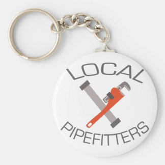 Local Pipefitters Key Ring