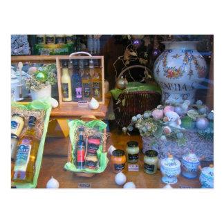 Local produce, in Dijon, Burgundy, France Postcard