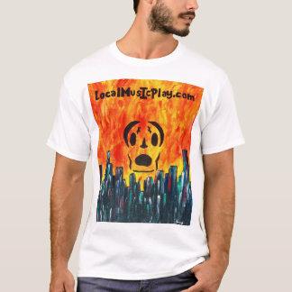 Localmusicplay.com Shirt. Fire City T-Shirt