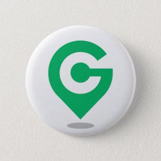 Location? Geocaching! 6 Cm Round Badge