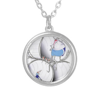 location location by tony fernandes silver plated necklace