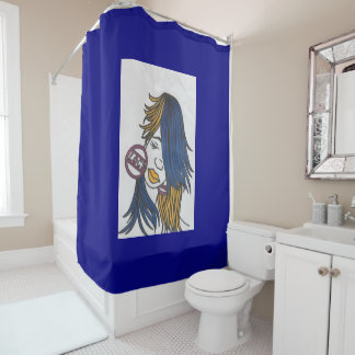 Loc'd Shower Curtain