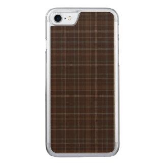 Loch Achaidh na h-Inich Plaid Carved iPhone 8/7 Case
