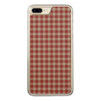 Loch Achall Plaid Carved iPhone 8 Plus/7 Plus Case