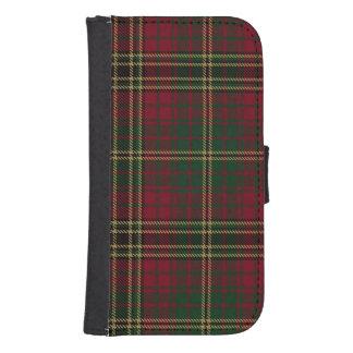 Loch Achnacloich Plaid Samsung S4 Wallet Case