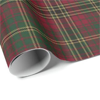 Loch Achnacloich Plaid Wrapping Paper