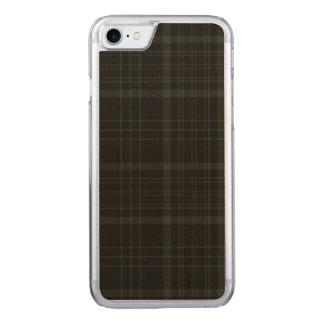 Loch Achray Plaid Carved iPhone 8/7 Case
