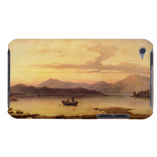Loch Etive, from Bonawe - Evening, 1875 (oil on ca iPod Case-Mate Case