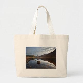 Loch Etive. Glencoe in the scottish Highlands Large Tote Bag