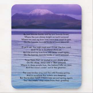 Loch Lomond By yon bonnie banks Mouse Pad