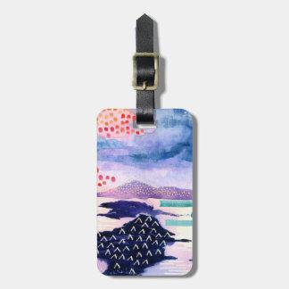 Loch Lomond Scottish Painting Luggage Tag