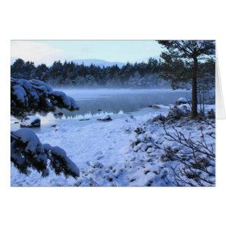 Loch Morlich, Scotland Card
