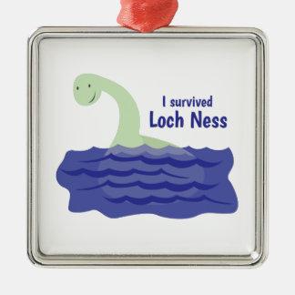 Loch Ness Metal Ornament