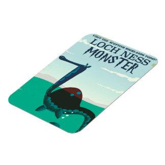 Loch Ness Monster funny travel poster Magnet