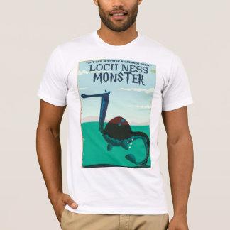 Loch Ness Monster funny travel poster T-Shirt