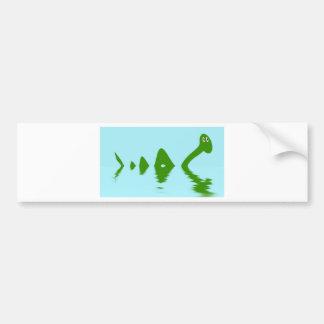 Loch Ness Monster (Green) Bumper Sticker