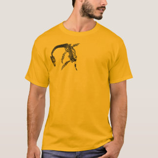 Loch Ness Monster / Plesiosaur Fossil T-Shirt