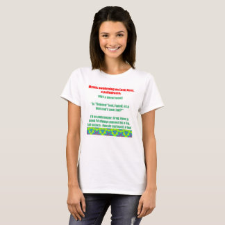 Loch Ness Palindrome T-Shirt