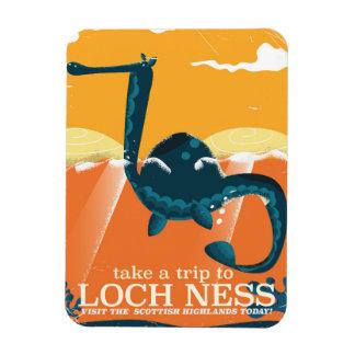Loch Ness Scotland highlands vintage monster Magnet