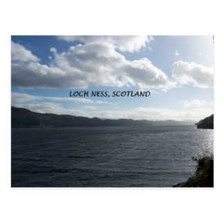 LOCH NESS SCOTLAND POSTCARD