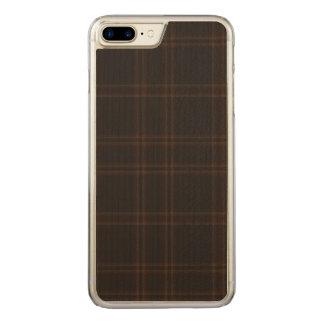 Loch of Aboyne Plaid Carved iPhone 8 Plus/7 Plus Case