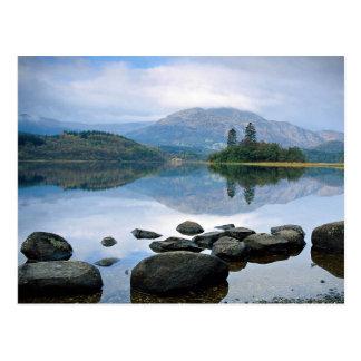 Loch, Scotland in Europe Postcard