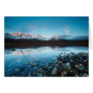 Loch Slapin, Isle of Skye, Scotland Card