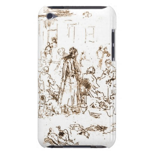 Loches Market Women 1880 Barely There iPod Case