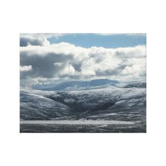 Lochnagar, Scotland. Canvas Print