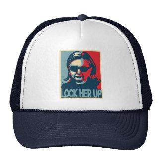 LOCK HER UP Anti-Hillary Clinton Trucker Hat