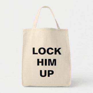 LOCK HIM UP tote