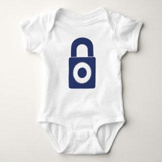 Lock it up baby bodysuit