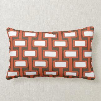Lock n' Key Red Lumbar Pillow