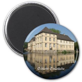 Lock Strünkede 6 Cm Round Magnet