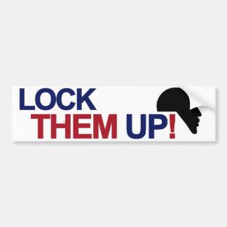 Lock Them Up Bumper Sticker