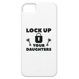 Lock Up You Daughters iPhone 5 Case