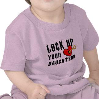 Lock up your daughters Baby tee Baby Tee