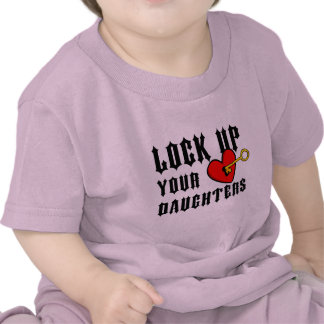 Lock up your daughters Baby tee Baby Tee