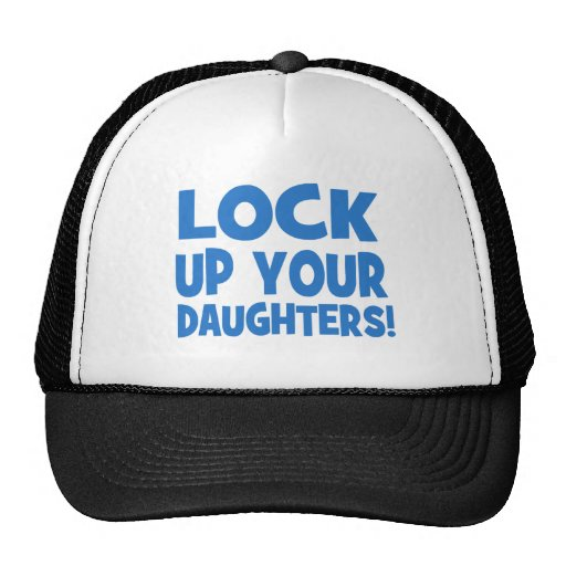 Lock Up Your Daughters! Mesh Hat