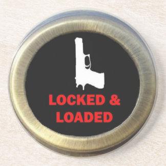 Locked and Loaded Gun Coaster