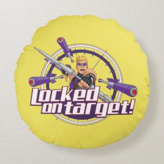 Locked On Target! Round Cushion