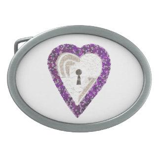 Locker Heart Buckle Belt Buckle