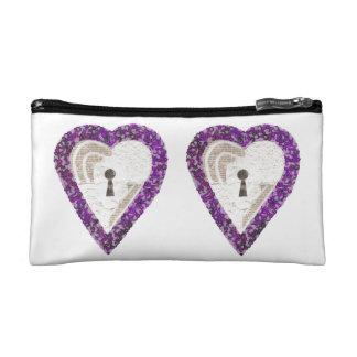 Locker Heart Cosmetic Bag