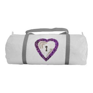 Locker Heart Duffle Gym Bag