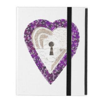 Locker Heart I-Pad 2/3/4 Case