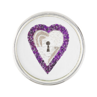 Locker Heart Lapel Pin