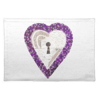 Locker Heart Placemat