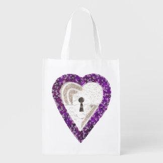 Locker Heart Reusable Bag