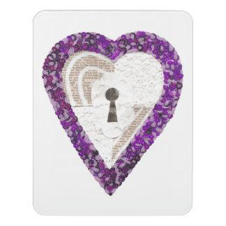 Locker Heart Room Sign