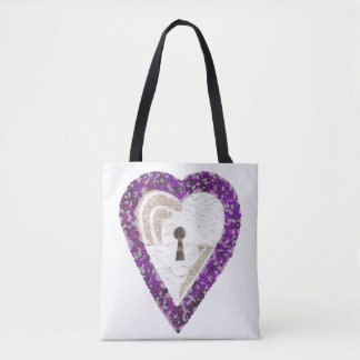 Locker Heart Tote Bag